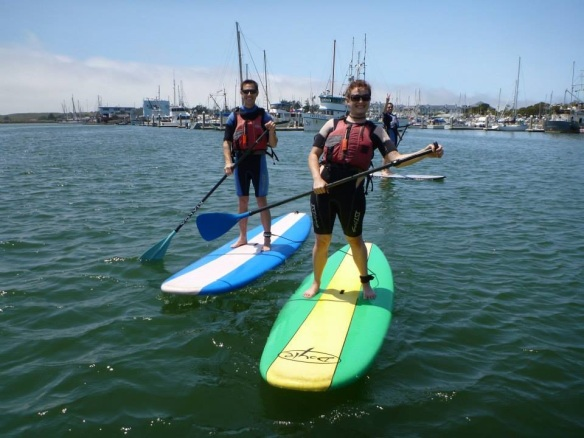 Stan Up Paddle boarding in Half Moon Bay