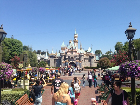 And Disneyland! Yes, there were 8 of us who went, and none of us were kids... well, kids at heart maybe :)
